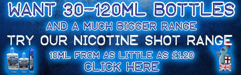 Sir Vapealot NICOTINE SHOT Liquids