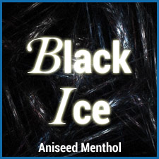 Black Ice eliquid aniseed menthol