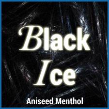 Black Ice eliquid aniseed menthol