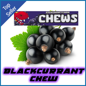 Blackcurrant chew flavoured eliquid