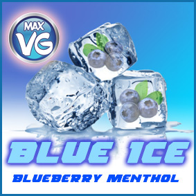 VG BLUE ICE Sub Juice Eliquid blueberry menthol