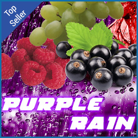 Purple Rain Eliquid Blackcurrant based Vimto fruit mix eliquid
