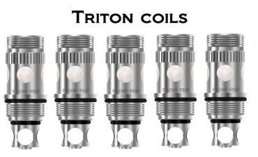 aspire triton tank coils