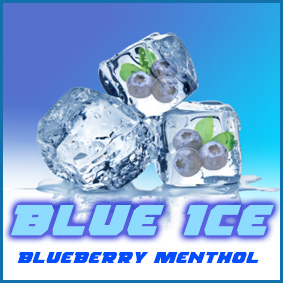 BLUE ICE Blueberry Menthol flavour eliquid