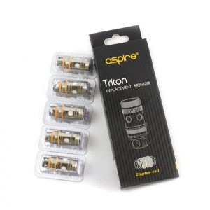 Aspire Triton & Triton 2 0.5Ohm Clapton Replacement coils