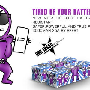 Efest IMR 20A 18650 3500 mah Battery