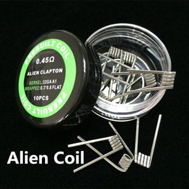 Alien clapton premade coil alien wire 0.3*0.8+32G