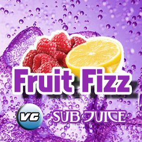 VG fruit fizz flavour E liquid