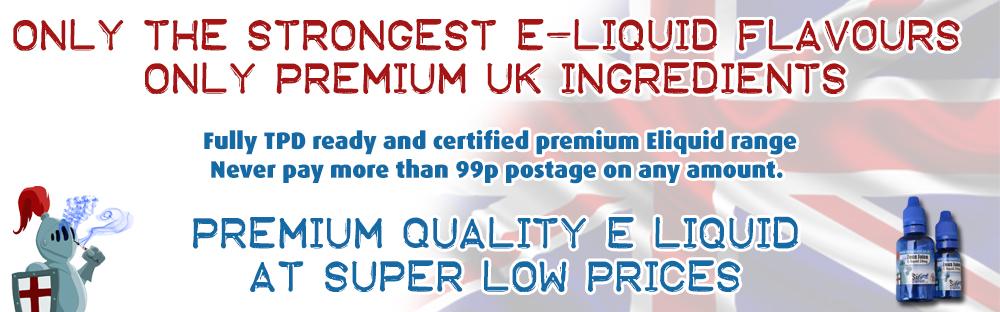 Sir Vapealot Fully TPD ready Premium Eliquid