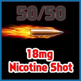 Sir Vapealot Nicotine Shot 50/50 base