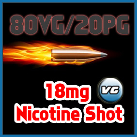 Sir Vapealot Nicotine Shot 80VG/20PG base