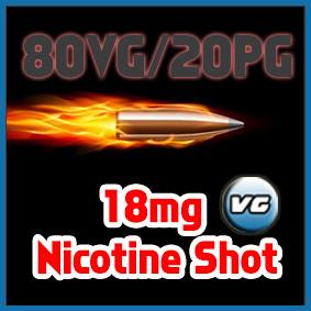 Sir Vapealot Nicotine Shot 80VG/20PG base