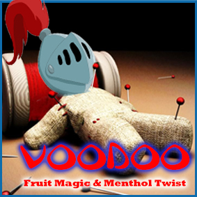 voodoo fruit mix with a menthol twist