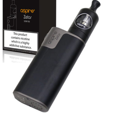Aspire zelos 50w mouth to lung boxmod black