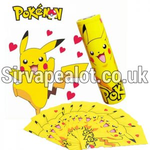 Pikachu 18650 pvc shrinking battery wrap