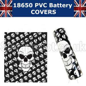 18650 battery wraps skulls