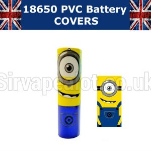 minion 18650 battery wraps