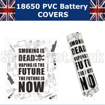 rip trippers smoking is dead vaping is the future 18650 battery wrap