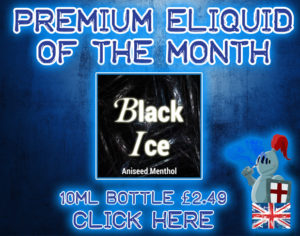 Premium-Eliquid-of-the-month-Black-Ice Menthol Aniseed