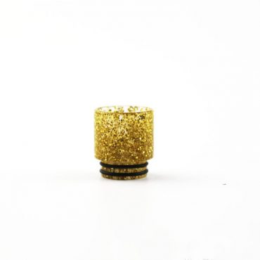 810 WIDE BORE Plastic Glitter Drip Tips