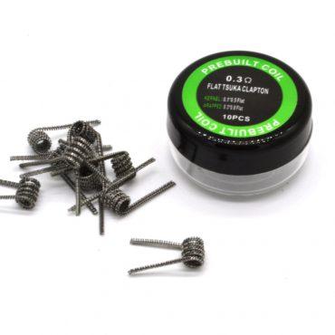 Flat TSuka 0.3 Ohm x10 prebuilt coil