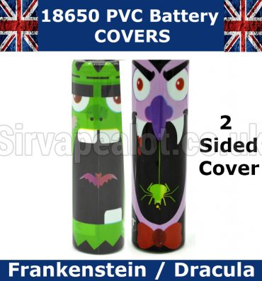 Frankenstein-dracula 18650-battery cover