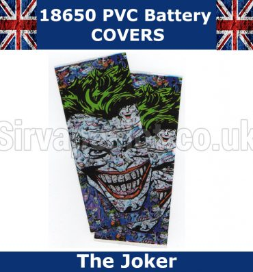 The Joker Batman 18650 Battery Covers