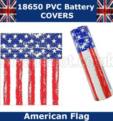 american-flag 18650 Battery Covers