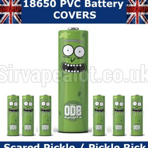 Pickle Rick Rick and Morty 18650 PVC Heat Shrink Wrap Battery covers