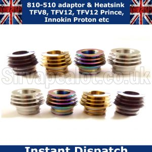 810-510-driptip adaptor and heatsink