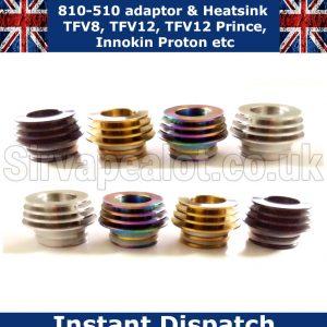810-510-driptip adaptor and heatsink