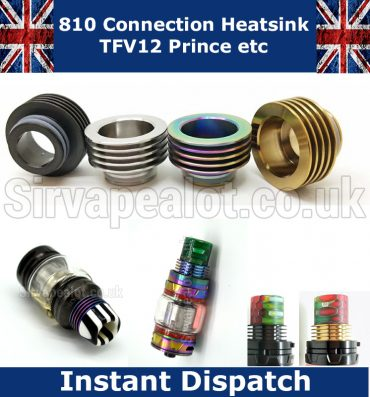 810 drip tip heatsink adaptor