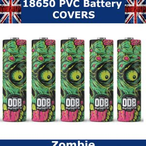 Zombie 18650 battery wraps x5