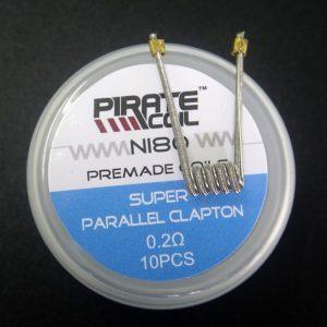Super Parallel Clapton ni80 0.2ohm