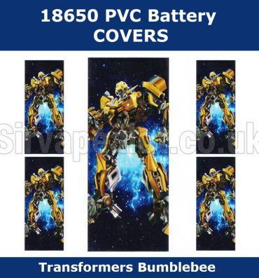 Bumblebee-transformers-18650-battery-wraps