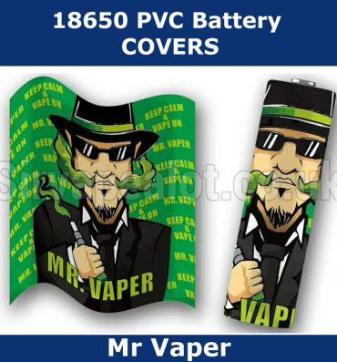 MR Vaper 18650 battery wraps