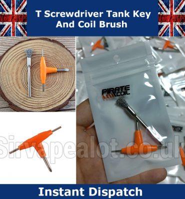 T-Key-coil-brush rda dcta accessories