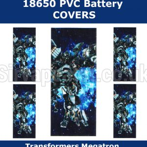 megatron-transformers-18650-battery-wraps
