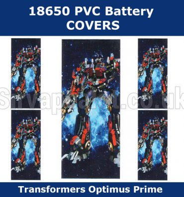 optimus-prime-transformers-18650-battery-wraps