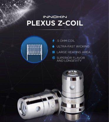 Innokin Zenith Plexus coils