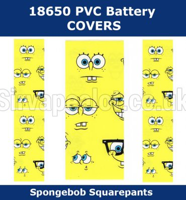 spongebob-face-18650-battery-wraps