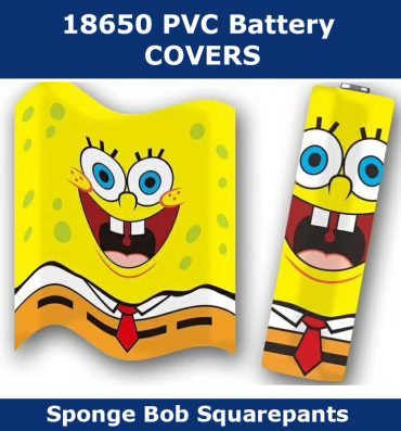 Spongebob Squarepants 18650 battery wraps