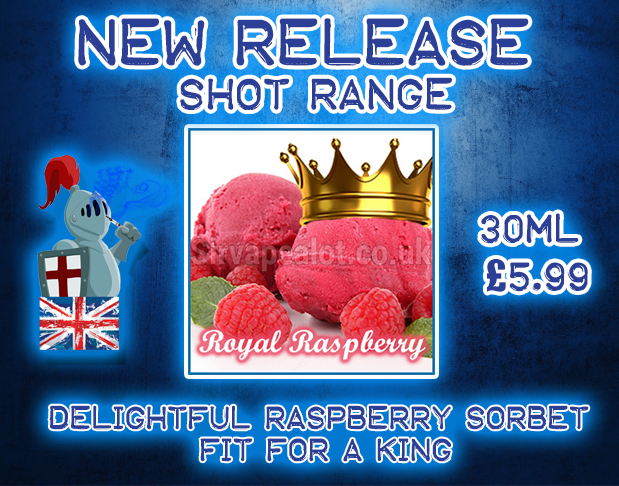 New Release Royal Raspberry Sorbet Eliquid