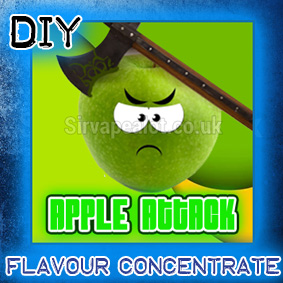 apple-attack-Eliquid-Flavour-concentrate