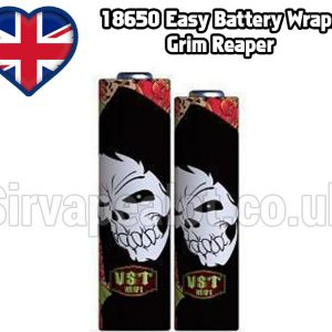 Grim reaper 18650 battery shrink wrap skins covers