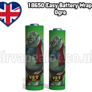 Ogre Evil series 18650 battery shrink wrap skins covers