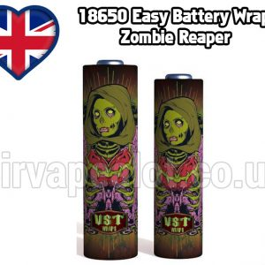 Zombie Reaper Evil series 18650 battery shrink wrap skins covers