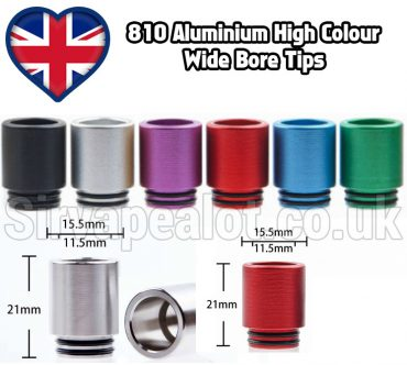 810 Simple aluminium drip tip