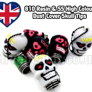 810 Skull dust cover tips