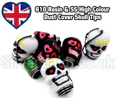 810 Skull dust cover tips